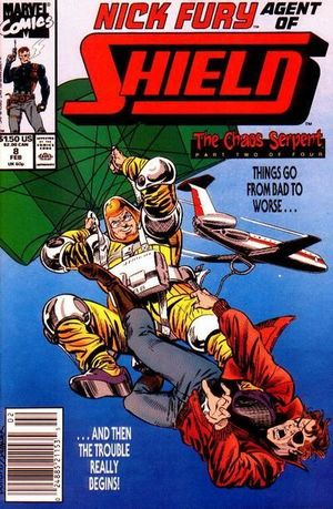 NICK FURY AGENT OF SHIELD (1989 3RD SERIES) #8