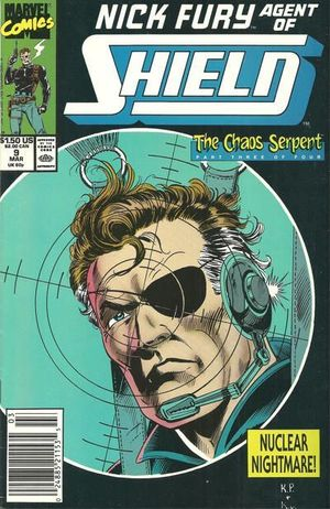 NICK FURY AGENT OF SHIELD (1989 3RD SERIES) #9