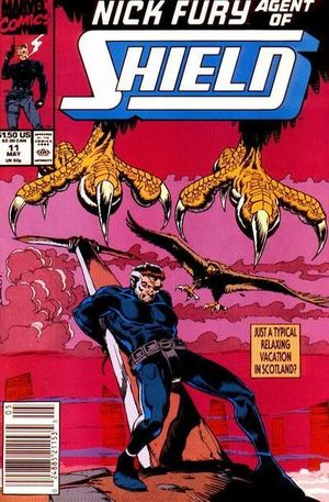 NICK FURY AGENT OF SHIELD (1989 3RD SERIES) #11