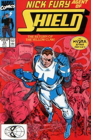 NICK FURY AGENT OF SHIELD (1989 3RD SERIES) #13