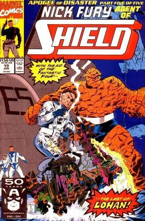 NICK FURY AGENT OF SHIELD (1989 3RD SERIES) #19
