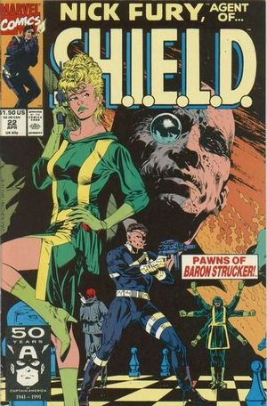 NICK FURY AGENT OF SHIELD (1989 3RD SERIES) #22