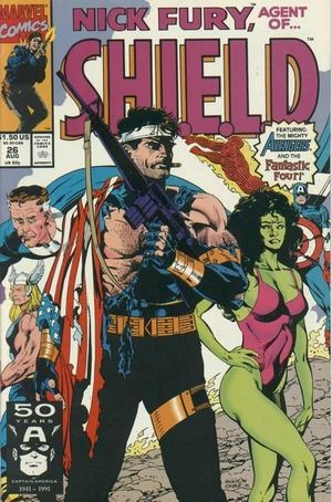 NICK FURY AGENT OF SHIELD (1989 3RD SERIES) #26