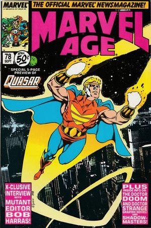 MARVEL AGE (1983) #78