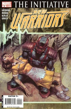 NEW WARRIORS (2007 4TH SERIES) #5
