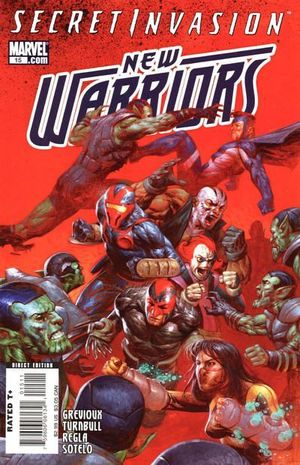 NEW WARRIORS (2007 4TH SERIES) #15