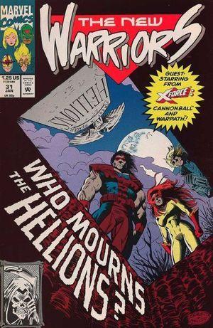 NEW WARRIORS (1990 1ST SERIES) #31
