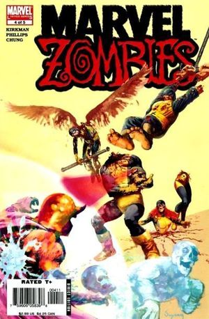MARVEL ZOMBIES (2005 1ST SERIES) #4