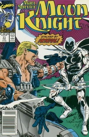 MARC SPECTOR MOON KNIGHT (1989) #11