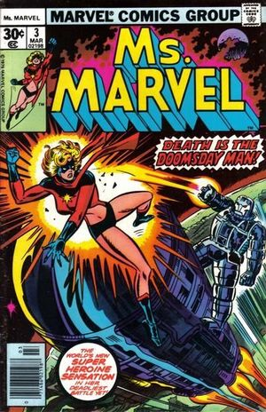 MS. MARVEL (1977 1ST SERIES) #3