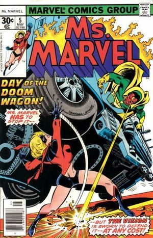 MS. MARVEL (1977 1ST SERIES) #5