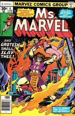 MS. MARVEL (1977 1ST SERIES) #6