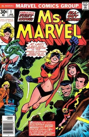 MS. MARVEL (1977 1ST SERIES) #1
