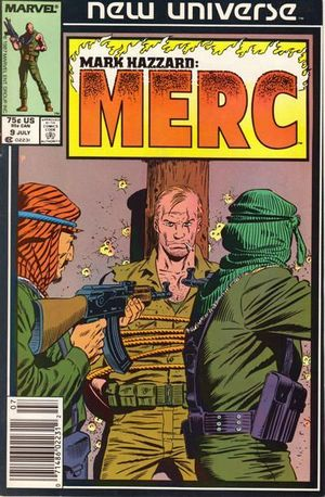 MARK HAZZARD MERC (1986) #9