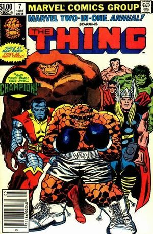 MARVEL TWO-IN-ONE ANNUAL (1974 1ST SERIES) #7