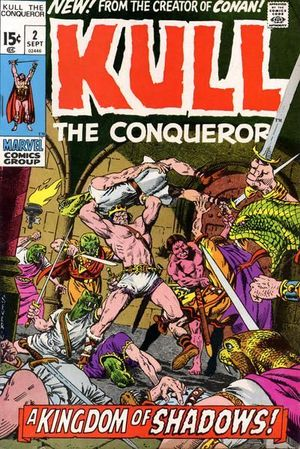 KULL THE CONQUEROR (1971 1ST SERIES) #2