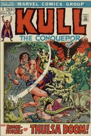 KULL THE CONQUEROR (1971 1ST SERIES) #3