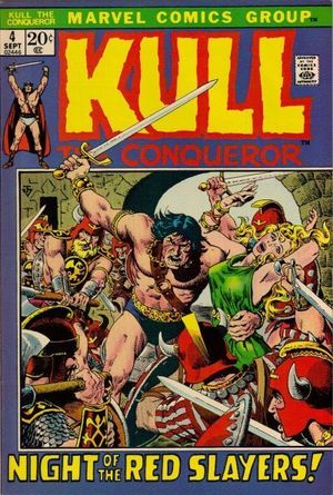 KULL THE CONQUEROR (1971 1ST SERIES) #4
