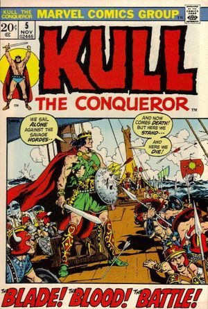 KULL THE CONQUEROR (1971 1ST SERIES) #5