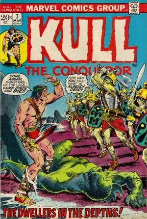 KULL THE CONQUEROR (1971 1ST SERIES) #7
