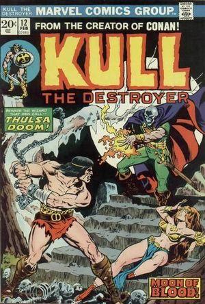 KULL THE CONQUEROR (1971 1ST SERIES) #12