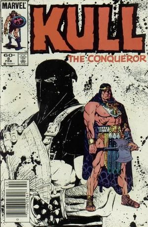 KULL THE CONQUEROR (1983 3RD SERIES) #8