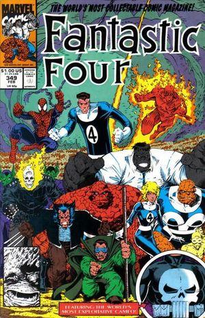FANTASTIC FOUR (1961 1ST SERIES) #349