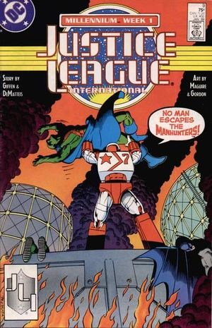 JUSTICE LEAGUE AMERICA (1987) #9