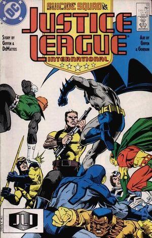 JUSTICE LEAGUE AMERICA (1987) #13