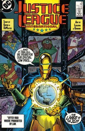 JUSTICE LEAGUE AMERICA (1987) #15