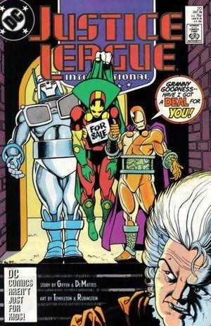 JUSTICE LEAGUE AMERICA (1987) #20