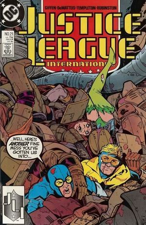 JUSTICE LEAGUE AMERICA (1987) #21