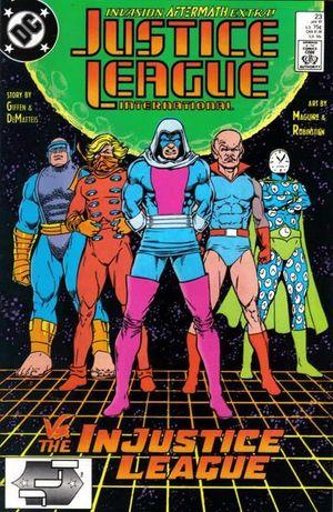 JUSTICE LEAGUE AMERICA (1987) #23