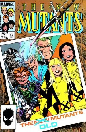 NEW MUTANTS (1983 1ST SERIES) #32