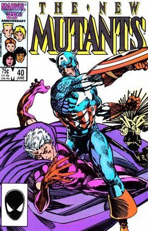NEW MUTANTS (1983 1ST SERIES) #40