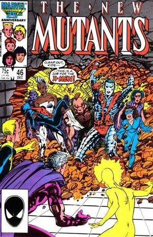 NEW MUTANTS (1983 1ST SERIES) #46