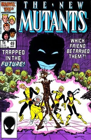NEW MUTANTS (1983 1ST SERIES) #49