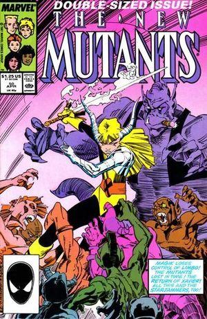 NEW MUTANTS (1983 1ST SERIES) #50