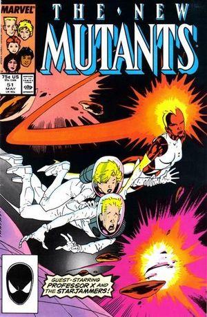 NEW MUTANTS (1983 1ST SERIES) #51