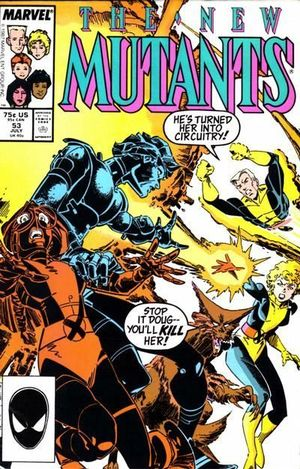 NEW MUTANTS (1983 1ST SERIES) #53
