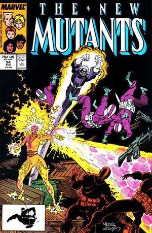 NEW MUTANTS (1983 1ST SERIES) #54