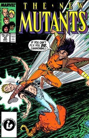 NEW MUTANTS (1983 1ST SERIES) #55