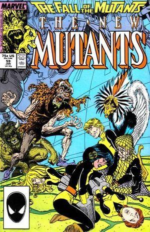 NEW MUTANTS (1983 1ST SERIES) #59