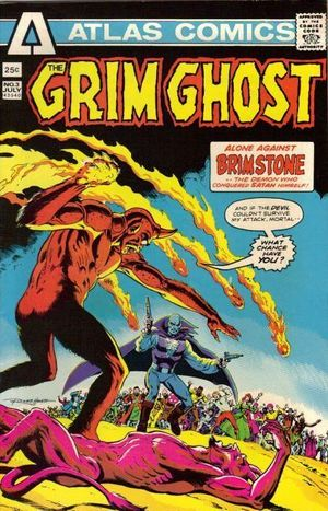GRIM GHOST (1975) #3