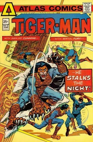 TIGER-MAN (1975) #2