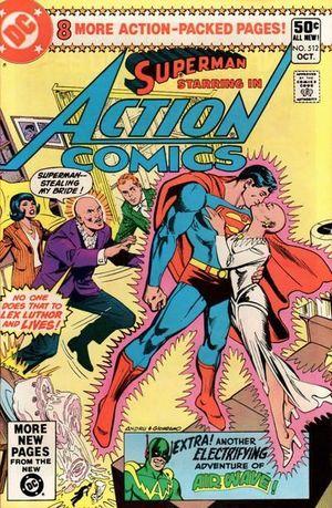 ACTION COMICS (1938 DC) #512