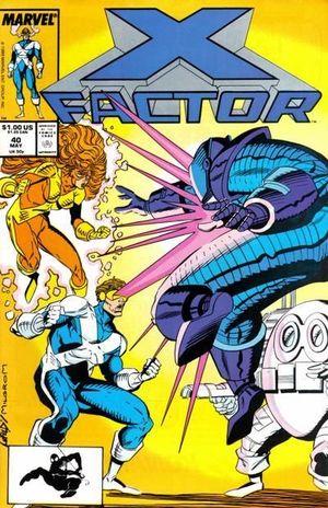 X-FACTOR (1986 1ST SERIES) #40
