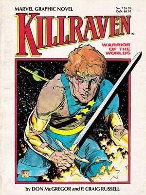 KILLRAVEN WARRIOR OF WORLDS GN (1983) #1
