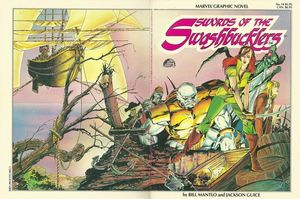 SWORDS OF THE SWASHBUCKLERS GN (1984) #1