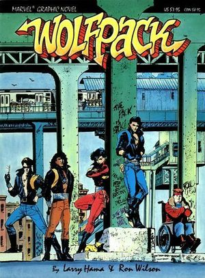 WOLFPACK GN (1987) #1